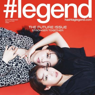 Hyomin & Kim Hee Jung @ Hashtag legend HK May 2020