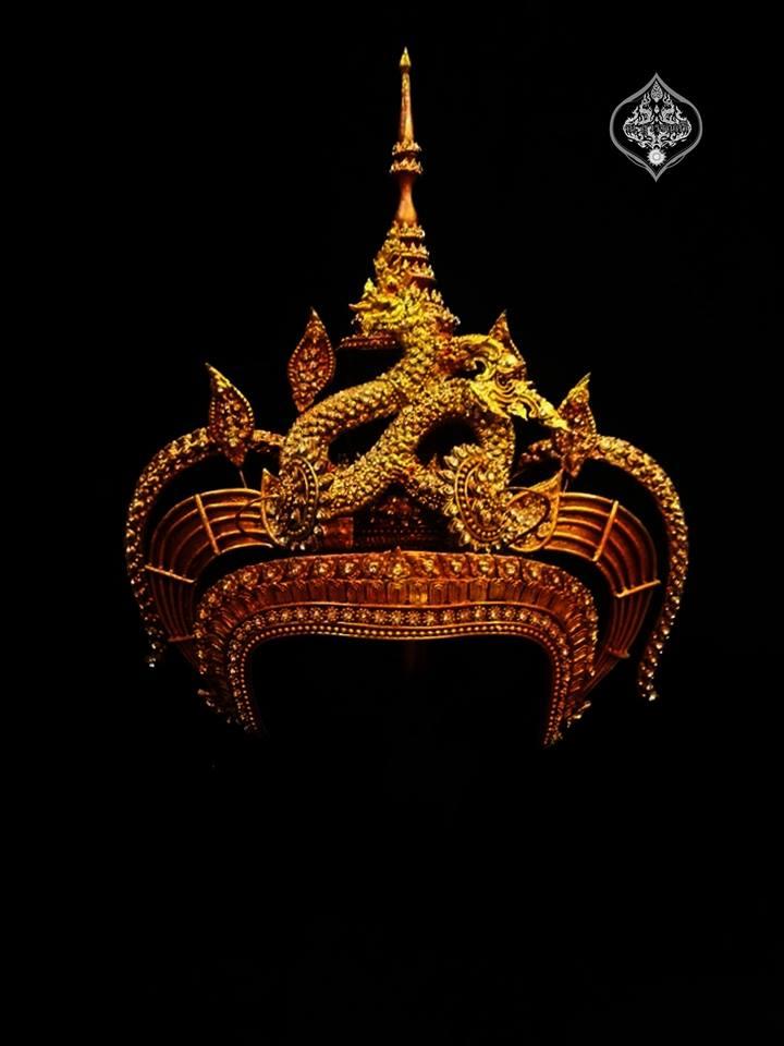 Thai Apsara headdress in Thailand.