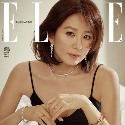 Kim Hee Ae @ Elle Korea June 2020