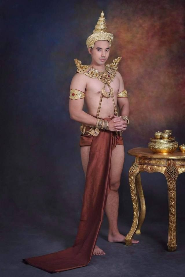 Thai guy and traditional outfit | Thailand