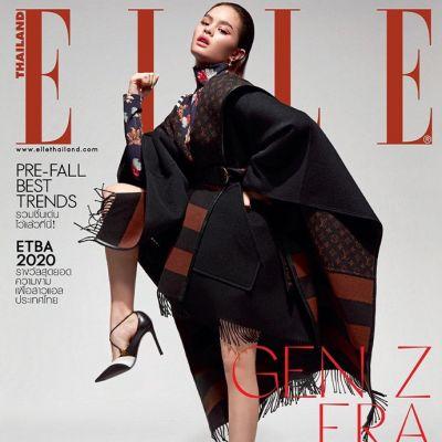 แอลลี่ อชิรญา @ ELLE Thailand July 2020