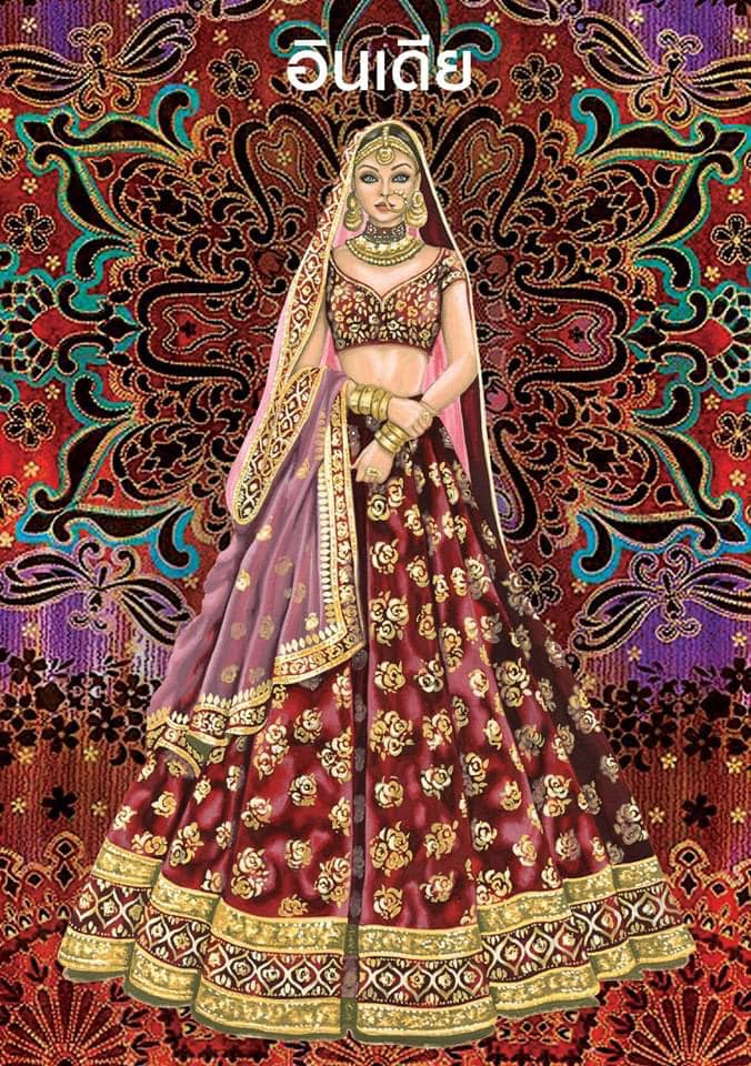 India | Wedding dress around the world