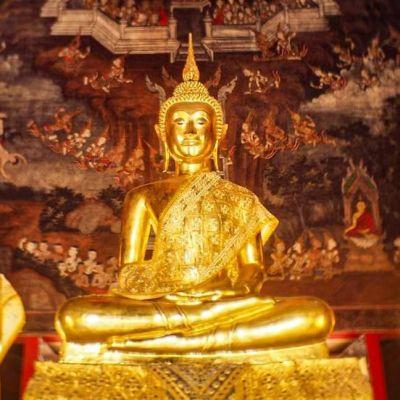 Wat Nai Rong (วัดนายโรง) Bangkok, Thailand. 🇹🇭