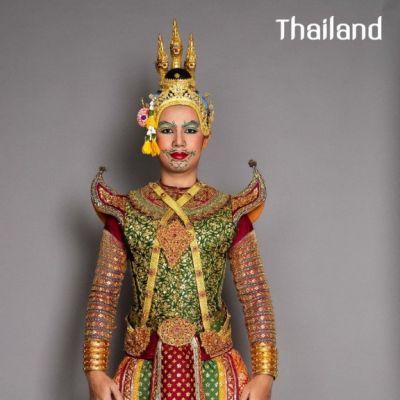 โขน   Khon masked dance drama in Thailand 🇹🇭