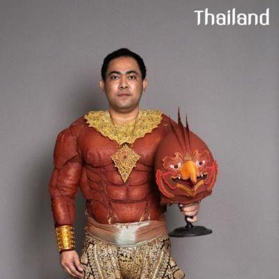 โขน   Khon masked dance drama in Thailand 🇹🇭 (๓)