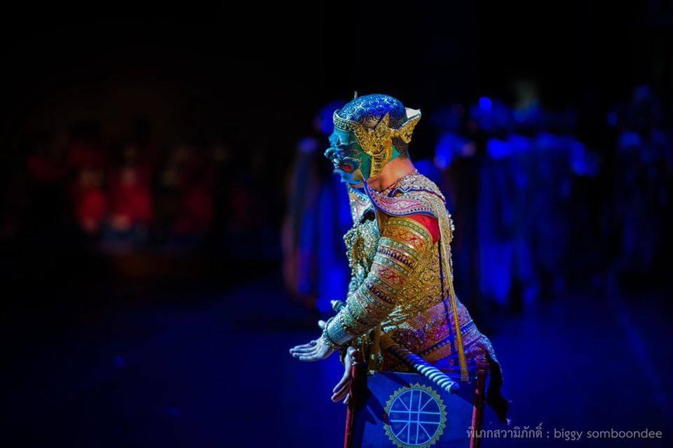 โขนพระราชทาน๒๕๖๑ พิเภกสวามิภักดิ์   Khon masked dance drama in Thailand 🇹🇭