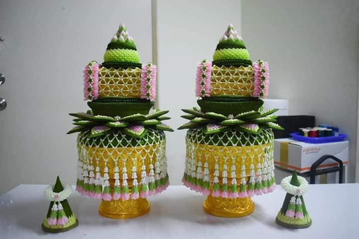 "Thailand 🇹🇭 | Thai floral handicraft หัตถศิลป์ไทย-ดอกไม้ประดิษฐ์ ""Credit: Thanawat Khankhua"""