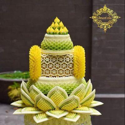 Thailand 🇹🇭   Thai floral handicraft หัตถศิลป์ไทย-ดอกไม้ประดิษฐ์  Credit: Thanawat Khankhua