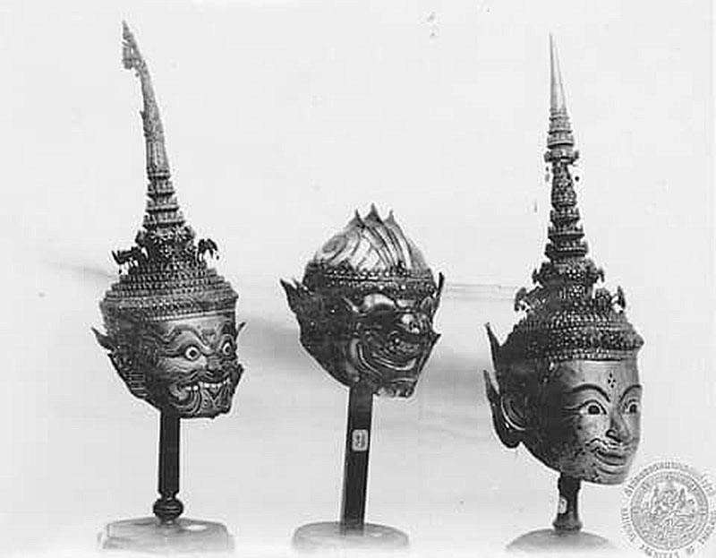 Thailand🇹🇭| The Khon mask dance in the reign of King Rama VI.