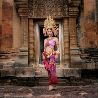 Thailand 🇹🇭  THAI APSARA: นางอัปสรแห่งปราสาทศีขรภูมิ จ.สุรินทร์