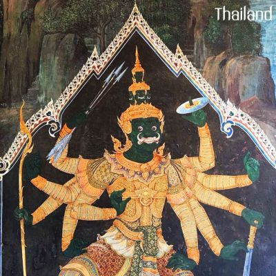 THAILAND🇹🇭 | The mural of giants in Ramakien at Wat Phra Kaew, Bangkok