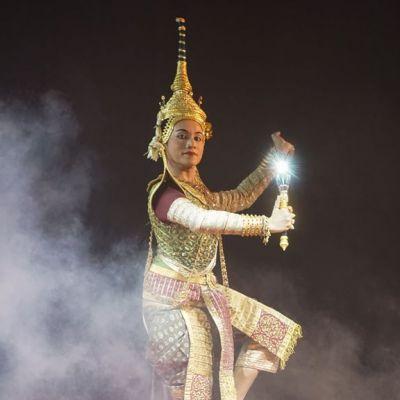 "Thailand 🇹🇭   ""ไพจิตราสูร"" Khon masked dance drama in Thailand (๒)"