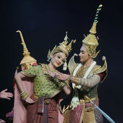 "Thailand 🇹🇭   ""ไพจิตราสูร"" Khon masked dance drama in Thailand (๓)"