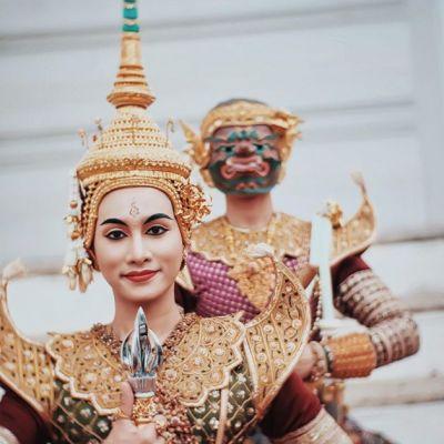 "Thailand 🇹🇭 | ""ไพจิตราสูร"" Khon masked dance drama in Thailand (๔)"