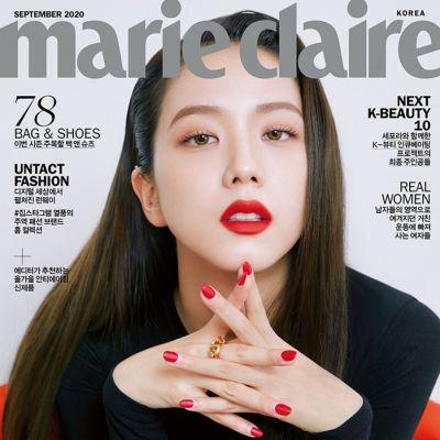 (BLACKPINK) Jisoo @ Marie Claire Korea September 2020