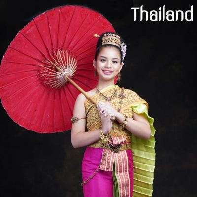 THAILAND 🇹🇭   Thai national costume, ชุดไทยจักรพรรดิ