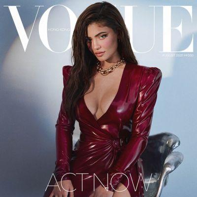 Kylie Jenner @ Vogue HK August 2020