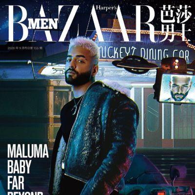 Maluma @ Harper's Bazaar Men China September 2020