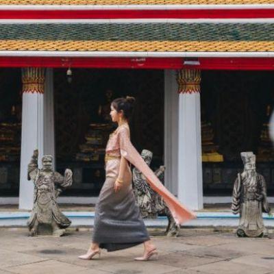 Thailand 🇹🇭   Thai Traditional dress, ชุดไทย