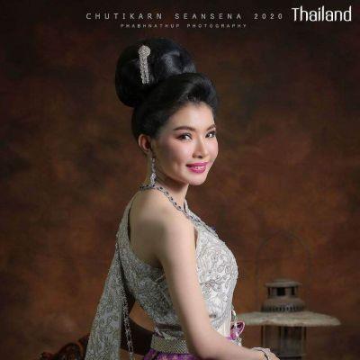 THAILAND 🇹🇭   Thai national costume  Thai outfit  ชุดประจำชาติไทย