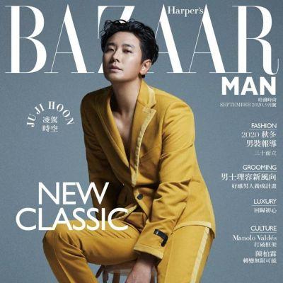 Ju Ji Hoon @ Harper's Bazaar Man Taiwan September 2020