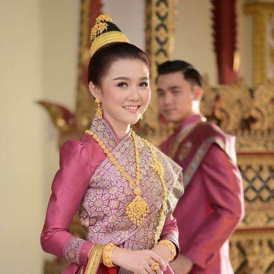 Laos 🇱🇦 |  ງານແຕ່ງ ລາວ  Laos traditional wedding costume
