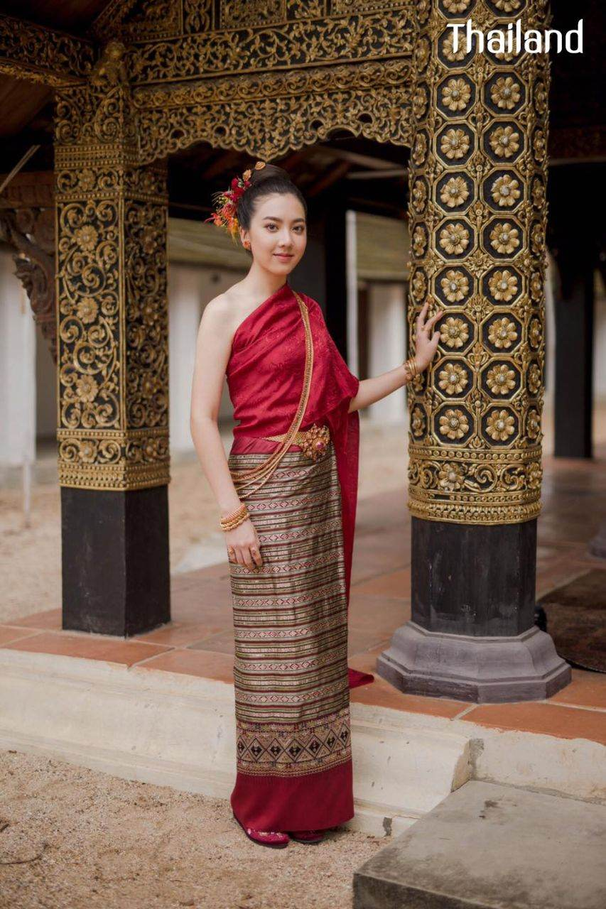 THAILAND 🇹🇭 | ล้านนา, Lanna traditional costume - Tai Yuan ethnic.