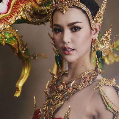 THAILAND 🇹🇭   Thai Dress of  Miss Grand Thailand 2020.  Udon Thani