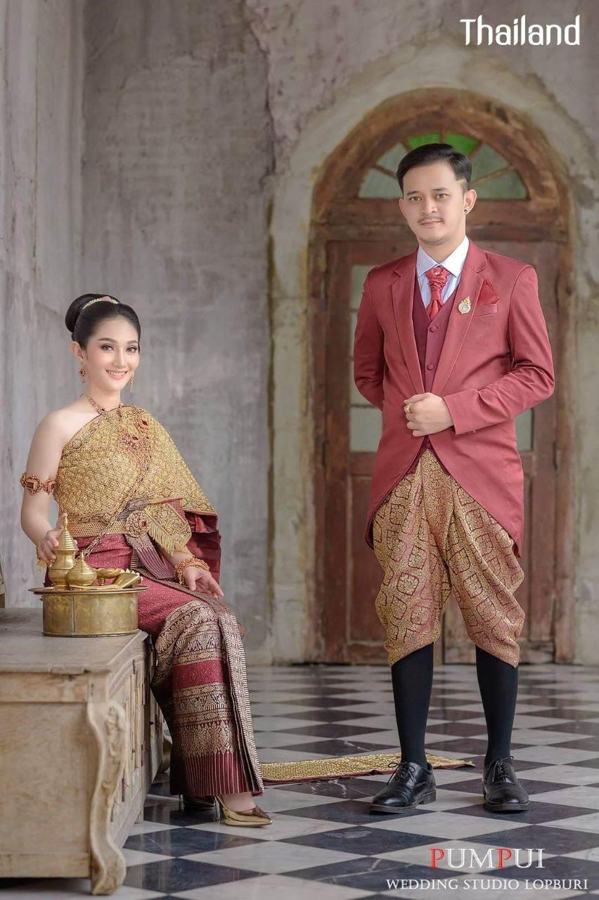 THAILAND 🇹🇭 | Thai wedding dress, ชุดไทยวิวาห์