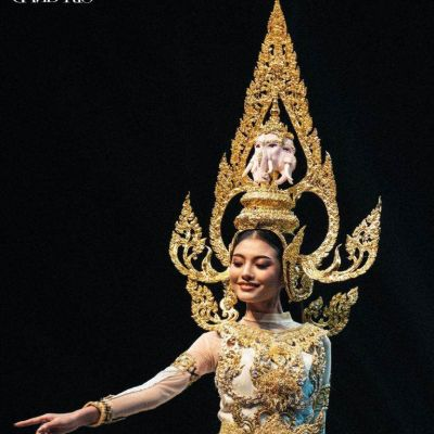 THAILAND🇹🇭 | Thai dresses on stage, The beauty pageant in 77 provinces of Miss Grand Thailand 2020.