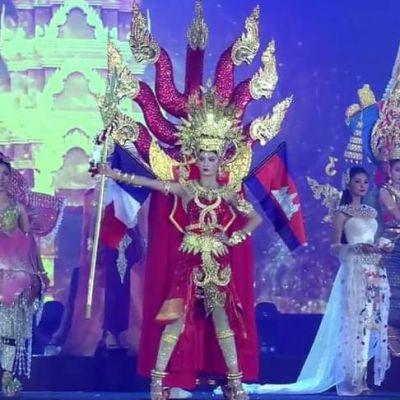National costume, Miss grand Cambodia2020 🇰🇭