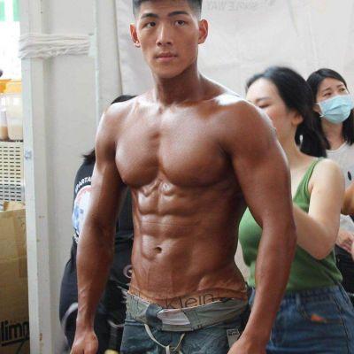 ดีต่อใจ#1396หนุ่มนักกล้ามก่อนแข่ง2020 WNBF TAIWAN