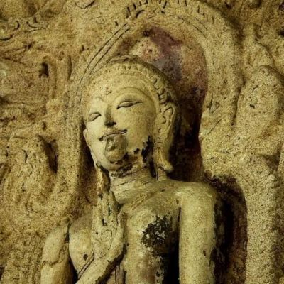 THAILAND 🇹🇭 | Early Ayutthaya period stucco at Wat Lai temple, Lopburi province