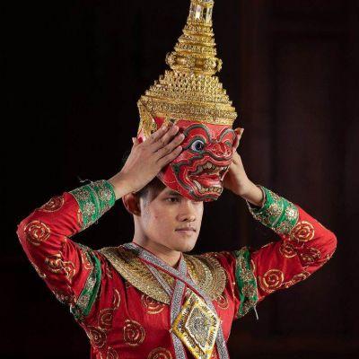 THAILAND 🇹🇭 | KHON masked dance drama in Thailand 🌹