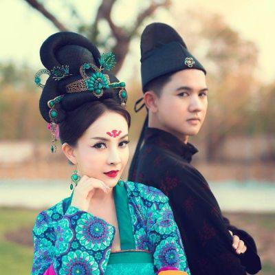 Tang Dynasty clothing - 唐代 齐胸襦裙