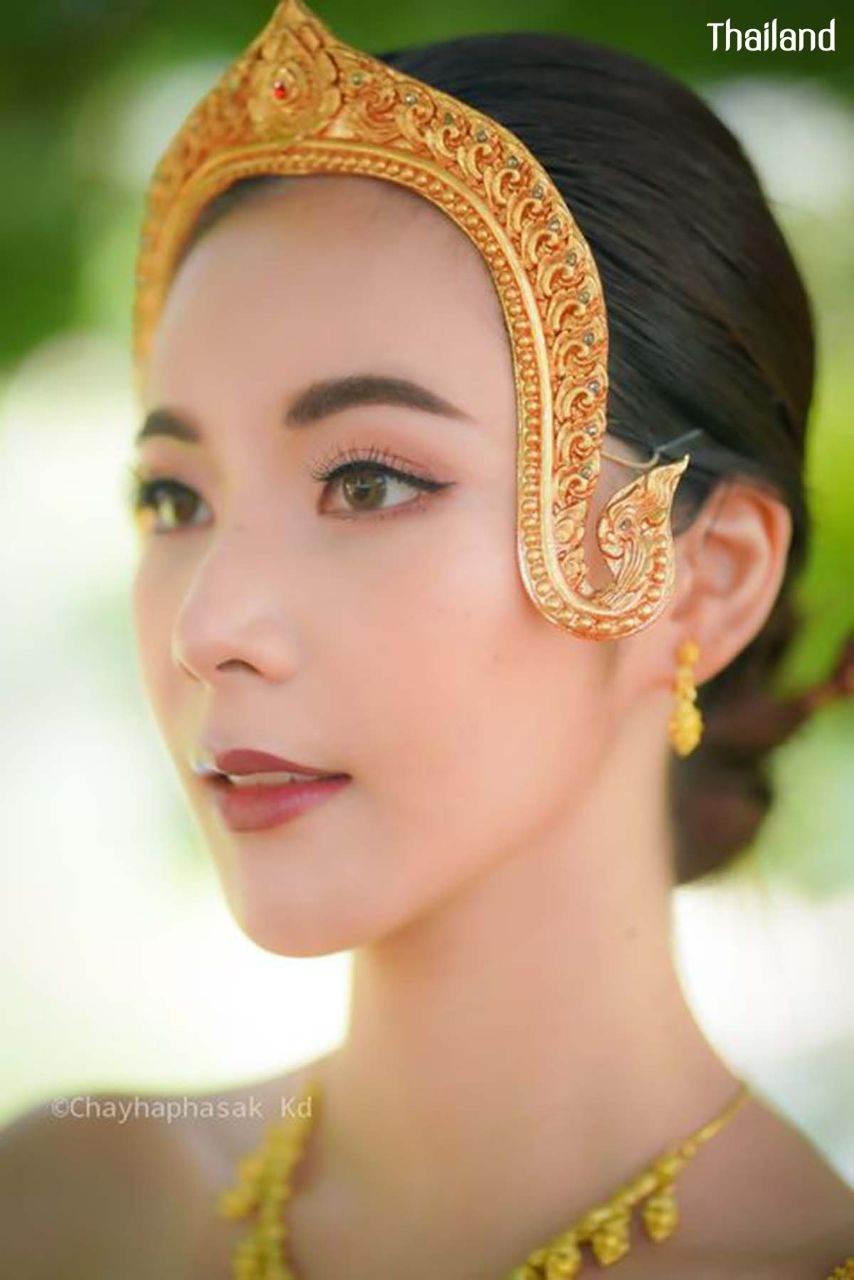 THAILAND    Thai Antique costume, The royal costume of Ayutthaya kingdom.