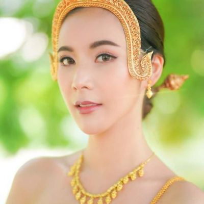 THAILAND  | Thai Antique costume, The royal costume of Ayutthaya kingdom.