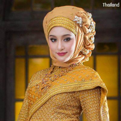 THAILAND 🇹🇭 | Muslim Wedding Dress in Thai Style - ชุดไทยศิวาลัย