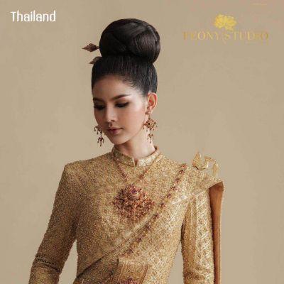 THAILAND 🇹🇭 | Thai Siwalai Dress, ชุดไทยศิวาลัย - ชุดประจำชาติไทย