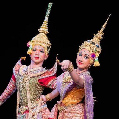THAILAND 🇹🇭 | Thai dance  ระบำโพยมานสราญรมย์
