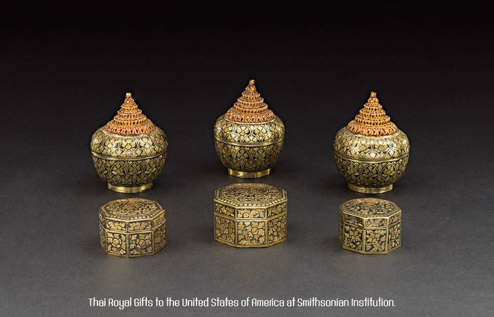 THAILAND 🇹🇭 | Thai Royal Gifts to the United States of America at Smithsonian Institution.