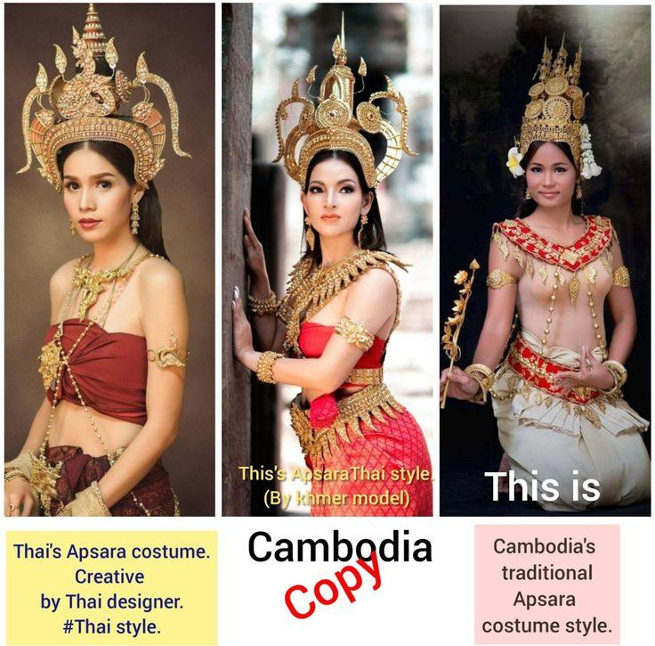 Thai Apsorn costume - Thai Apsara. #Thai style.