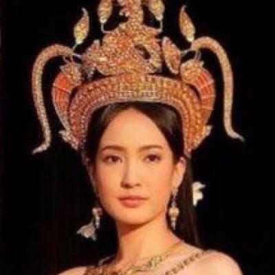 Thai Apsorn costume - Thai Apsara. #Thai style.