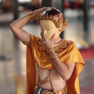 THAILAND 🇹🇭 | Khon masked dance drama in Ayutthaya Era. โขนสมมุติอยุธยา (ตอนสำมนักขาหาคู่)