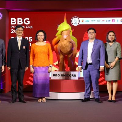 "BBG จัดงานแถลงข่าว ""BBG Princess Cup 2021"" ชิงถ้วยพระราชทาน พร้อมเปิดตัวมาสคอต ""BBG Unicorn"" สัญลักษณ์แห่งความบริสุทธิ์"