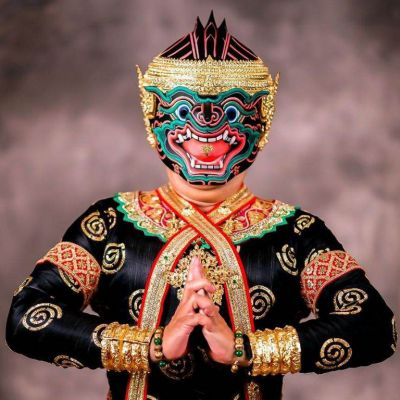THAILAND 🇹🇭 | นิลพัท ลิงดำกำแหง,  โขน  Khon masked dance drama in Thailand
