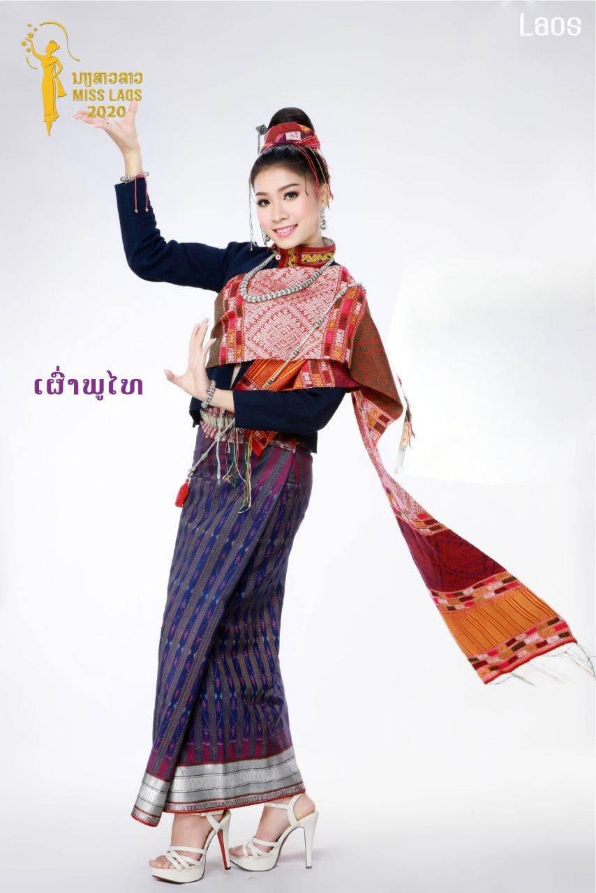 Laos 🇱🇦 | ethnic and tribe outfit, ການແຕ່ງກາຍຂອງຊົນເຜົ່າໃນລາວ by MISS LAOS ນາງສາວລາວ2020