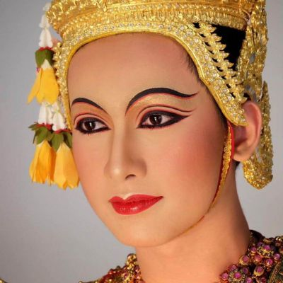 THAILAND 🇹🇭 | The Makeup of Thai Khon performance