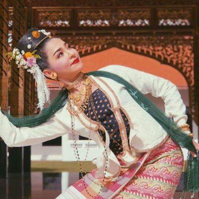 THAILAND 🇹🇭 |  Man Mui Zienta Dance  or  Fon Man Mui Chiang Ta : The Influence of Burmese Dramatic Art in Thai Lanna performance.