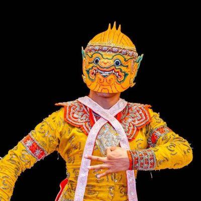 THAILAND 🇹🇭 |  ระบำวานรเตียวเพชร  Khon masked dance drama in Thailand